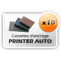 10 Cassettes Printer Colop